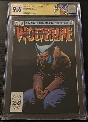 £363.11 • Buy Wolverine Limited Series #3 CGC 9.6 SS Frank Miller Signed LABEL 1982 WP 3 Of 4!