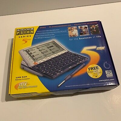 £234.99 • Buy Psion Series 5MX Palmtop Computer PDA Excellent Condition With Instructions Box