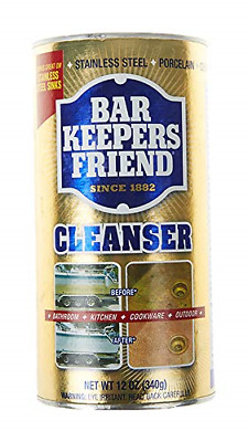 £9.55 • Buy Bar Keepers Friend, Cleanser, 12 Oz 340 G