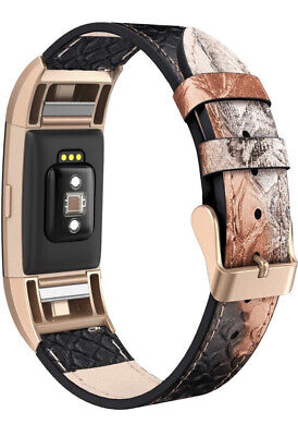 """$ CDN17.56 • Buy SWEES Leather Band Compatible Fitbit Charge 2 Adjustable Strap Small 5.6""""-7.5"""""""