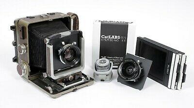 £1151.69 • Buy Wista 45D 4X5 Camera With 90mm + 150mm Schneider Lenses + Holders