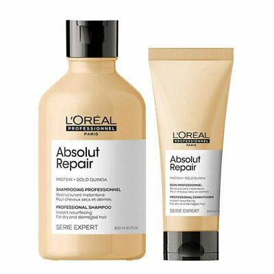 £24.95 • Buy L'Oreal Absolut Repair Shampoo 300ml & Conditioner 200ml Duo *FREE POSTAGE*
