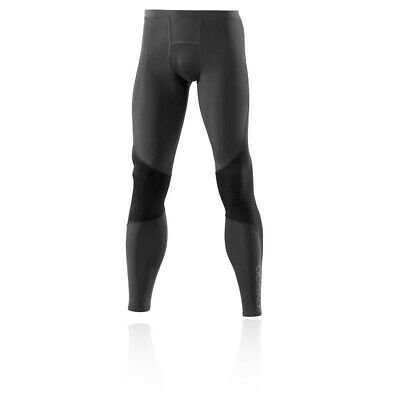 £49.99 • Buy Skins Mens Bio RY400 Compression Recovery Tights Bottoms Pants Trousers Black
