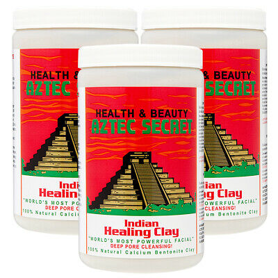 AU51.86 • Buy Aztec Secret Indian Healing Clay 2 Lbs  Pack Of 3  /  Free Shipping