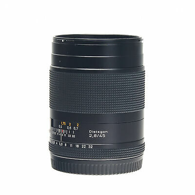 $ CDN1006.98 • Buy Contax 645 AF 45mm F2.8 Carl Zeiss T* Distagon Wide Angle Prime Lens