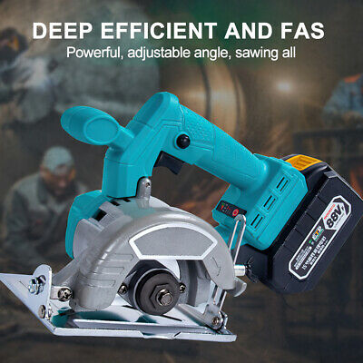 £49.99 • Buy Replace For Makita 18V Battery Electric Cordless Circular Saw Wood Cutting Tool