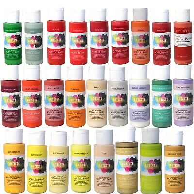 £2 • Buy DecoArt Crafters Acrylic Paint 2oz 59ml Pots Arts & Crafts Up-to 20% OFF