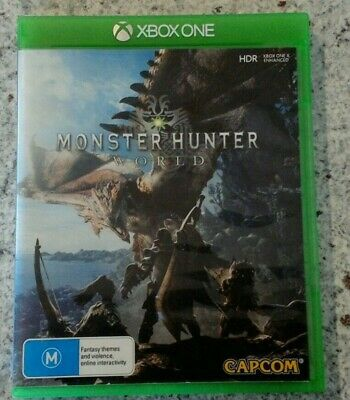 AU18 • Buy Xbox One Monster Hunter World - Free Postage Included