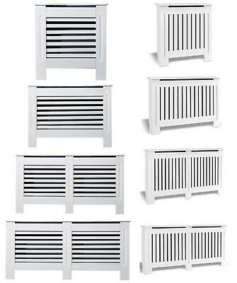 £28.99 • Buy Radiator Cover White Small Large Modern Traditional Wood Grill Cabinet Furniture