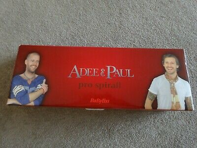 £20 • Buy Adee And Paul Babyliss Pro-Spiral Curling Heated Hair Tong
