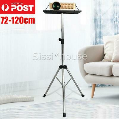 AU38.95 • Buy Projector Tripod Stand  Adjustable For Laptop Notebook With Tray 72-120cm Height