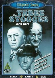 £2.99 • Buy The Three Stooges - Early Years 2 (DVD, 2002) Hollywood Classics New Sealed