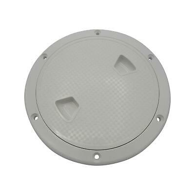 £7 • Buy Deck Inspection Hatch White Plastic 4  - Marine Water Tight Round Cover