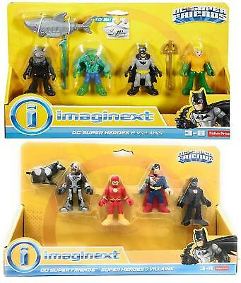 £17.49 • Buy Fisher Price Imaginext DC Super Friends Heroes And Villains Action Figures