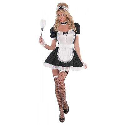 $40.89 • Buy French Maid Costume Adult Halloween Fancy Dress