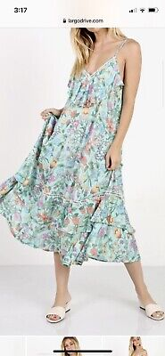 AU505.08 • Buy Spell And The Gypsy Collective Sayulita Frill Maxi Dress NWT Size XS