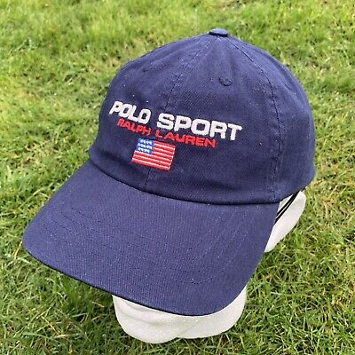 £24 • Buy Polo Sport Ralph Lauren Baseball Cap Hat New With Tags Navy Blue