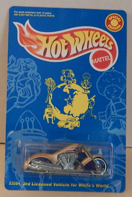 $16.99 • Buy Scorchin' Scooter Gold Motorcycle Hot Wheels White's Guide Magazine Mail-In