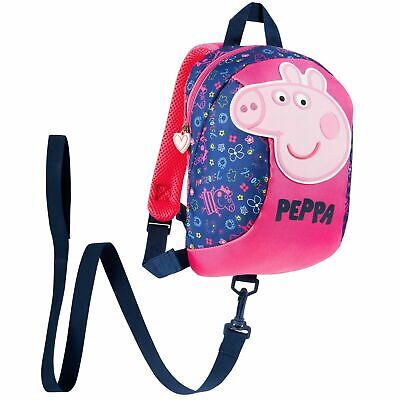 £13.49 • Buy Peppa Pig Backpack With Reins - Safety Reins For Toddlers Girls