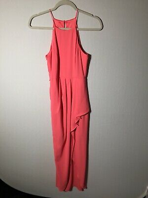 AU22.49 • Buy Forever New Womens Pink Maxi Dress Size 6 Sleeveless Good Condition