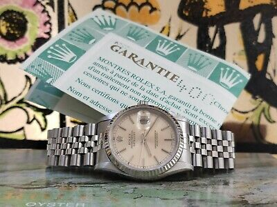 $ CDN10099.03 • Buy Rolex Datejust 16234 Jubilèe Box And Papers 1996 Automatic Watch