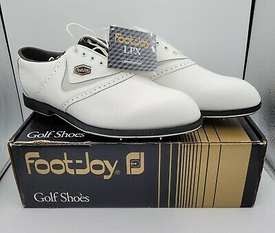 $94.99 • Buy NEW FootJoy LPX 58008 White Men's Golf Shoes Size 12 M New In Box
