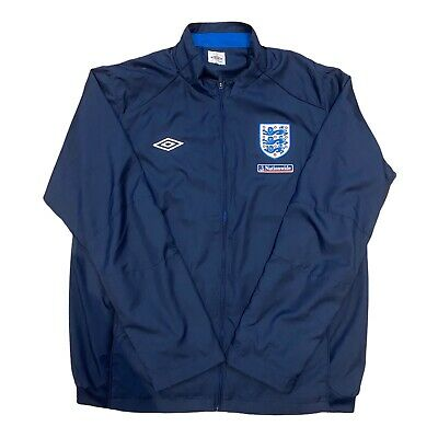 £29.95 • Buy England Training Drill Top Jacket Navy XL Tailored By Umbro Excellent Condition