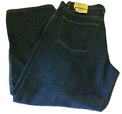 $16.99 • Buy Stanley NWT Mens Classic Fit Flannel Lined Straight Leg Jeans Size W36 X L30