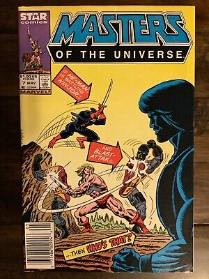 $25 • Buy MASTERS OF THE UNIVERSE 7 Comic Book Marvel Star 1986 He-Man