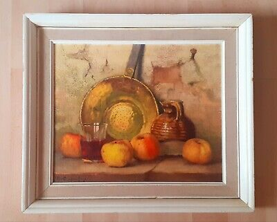£18.99 • Buy Boots Robert Chailloux Still Life Fruit Print On Board Mid Century Wall Picture