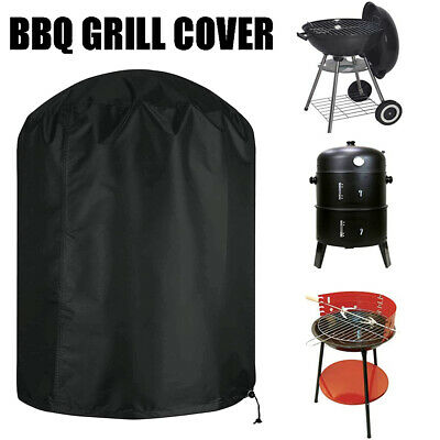 £10.43 • Buy Round BBQ Garden Barbecue Grill Cover Outdoor Waterproof Smoker Kettle Protector