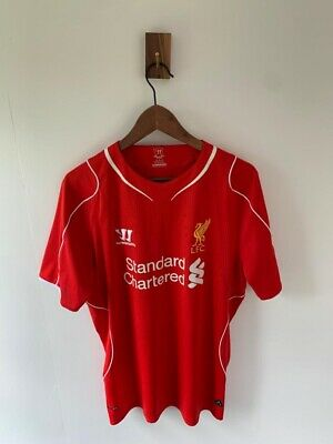 £18.99 • Buy Liverpool 2014-15 Home Shirt Gerrard #8 Warrior Red Size Large