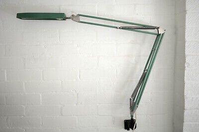 £99 • Buy Vintage German Wall Mounted Anglepoise Fluorescent Task Work Lamp - Industrial