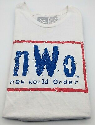 £13.16 • Buy NWO New World Order American Flag T-Shirt WWE Authentic Collection Size L