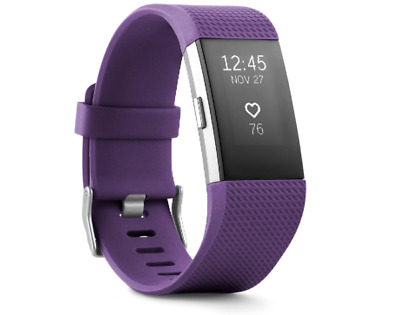 $ CDN147.24 • Buy NEW Fitbit Charge 2 Heart Rate + Fitness Wristband Plum Size Small