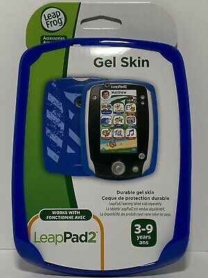£3.09 • Buy LeapFrog LeapPad2 Durable Gel Skin Protective Cover Blue 3-9 Years Case New