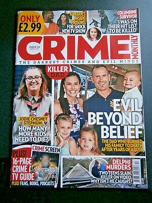 £3.85 • Buy Crime Monthly Magazine Issue 13 April (new) 2020