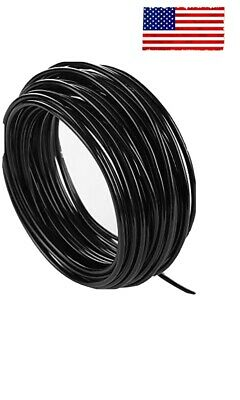£3.61 • Buy BV 20 AWG Single Core Wire Solid Core Copper Wire PVC Black Cable 25 Ft