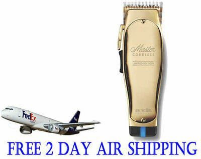 £244.07 • Buy Andis Cordless Master Lithium-Ion Battery Limited Edition Gold Clipper 12540
