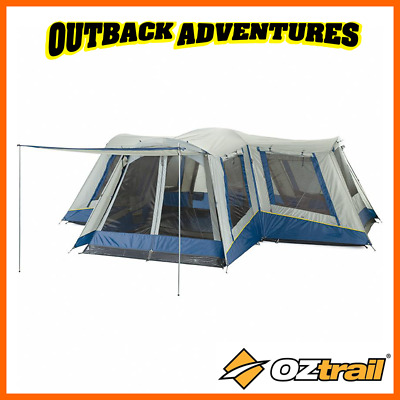 AU494 • Buy Oztrail Family 12 Dome Tent Large Big 12 Person 4 Room Camping Travel