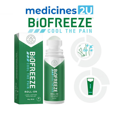 £9.99 • Buy Biofreeze Pain Relieving Roll-ON 84g