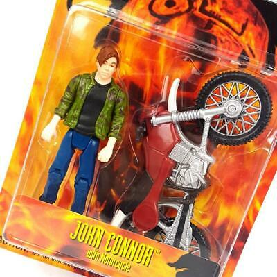 £32.99 • Buy Original ☆ JOHN CONNOR WITH MOTOCYCLE TERMINATOR 2 3D Figure ☆ Sealed MOC Carded