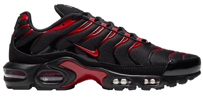 $159.99 • Buy Nike Air Max Plus Black Red CU4864-001 Men's Sizes 8-13 New With Tags