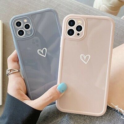 £3.98 • Buy Girly Heart Phone Case For IPhone 11 12 Pro XR 8 7 SE Shockproof Soft TPU Cover