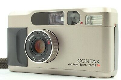 $ CDN1006.95 • Buy [EXC+4] Contax T2 D Data Back Silver 35mm Point & Shoot From Japan 307