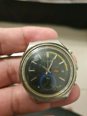 $ CDN125.88 • Buy Vintage Seiko Blue Eye 6139-7060 Japan For Restoration Project Or Spare Parts Us