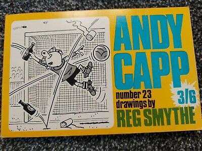 £5 • Buy Andy Capp No23, 1969, Drawings By Reg Smythe