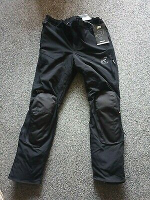 £320 • Buy Rukka Gore-tex Elas Motocycle Trousers Black Size 58 Long Brand New With Tags