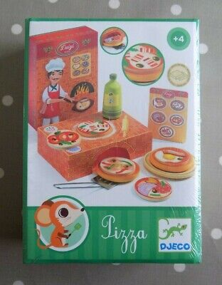 £11 • Buy Djeco Luigi Pizza Shop Role Play Toy Wooden Play Food