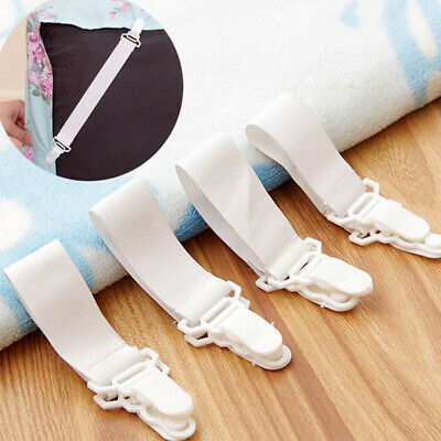 £3.15 • Buy 8X Straps Suspender Strip Clips Fasteners Elastic Sheet Grippers Bed Mattress